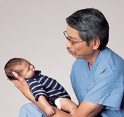 Dr Tran and baby-175