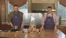 WATCH VIDEO: MEN IN APRONS 6 / HEALTHY SNACKS